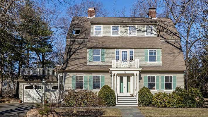 Cushing Road Wellesley Home